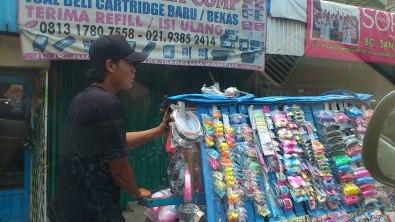 Jakarta street, Jakarta toy seller