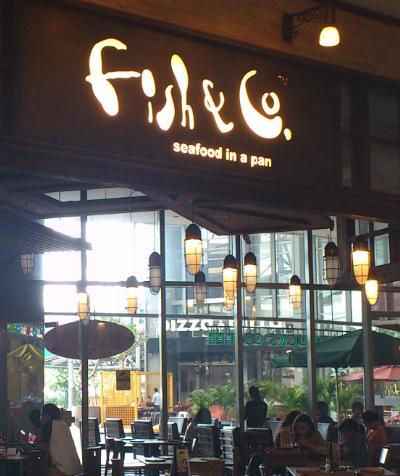 Fish & Co., Jakarta fish and chips, Jakarta shopping mall, Jakarta restaurant