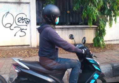 Jakarta traffic, Jakarta motorist, Jakarta traffic jam