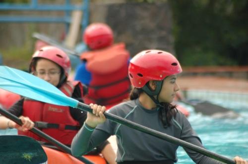 kayaking in Bogar, Jakarta