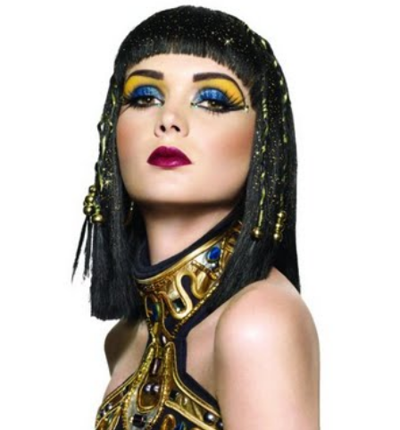 Cleopatra Halloween Makeup, Halloween, Halloween costumes, fashion Halloween, woman's fashion, Cleopatra makeup, Cleopatra