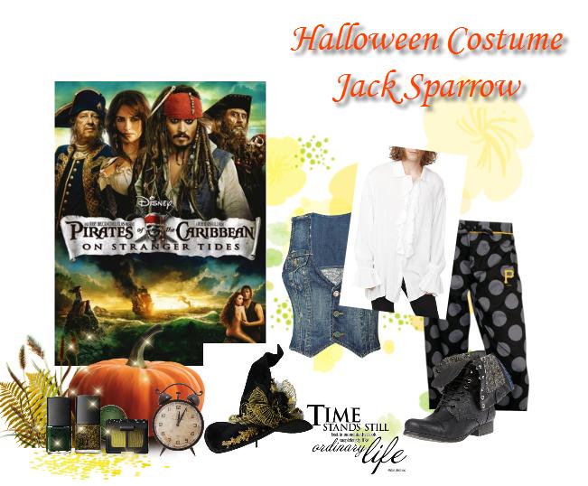 Halloween Diy Costume Jack Sparrow Midnight Visitor