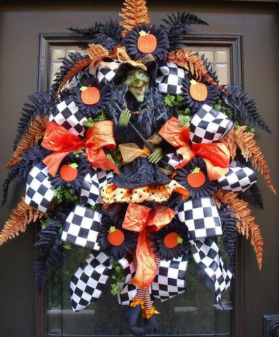 halloween door decor halloween door wreath