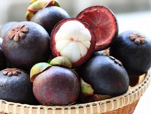 tropical fruit, queen of tropical fruit, manggis, mangosteen