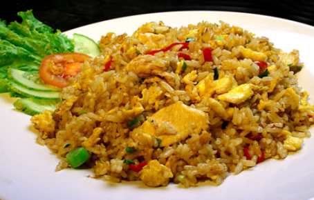 Indonesia nasi goreng, Indonesia recipe, Indonesia food
