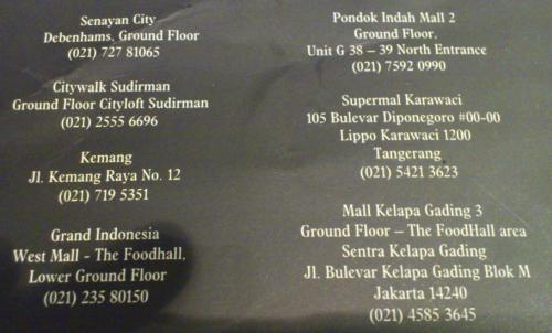 must eat Jakarta, Jakarta must visit, Jakarta restaurant, good Jakarta restaurant