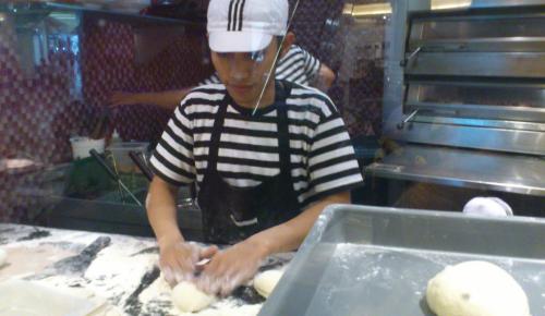 pizza, making pizza, Pizza Marzano, PIM, Pondok Indah Mall, Jakarta shopping mall, Jakarta pizza
