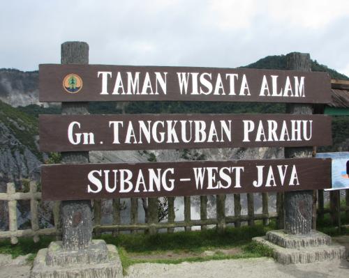 Indonesia volcano,  Tangkuban Prahu crater, volcano indonesia