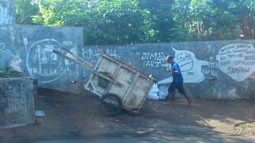 jakarta graffiti man