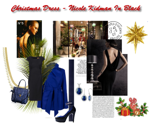black dress, christmas dress, woman's fashion, online fashion boutique