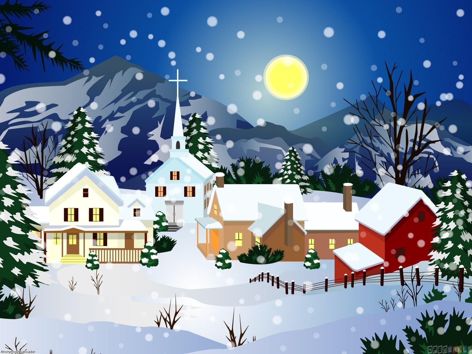 Silent night christmas carol music and lyrics midnight for Christmas house music