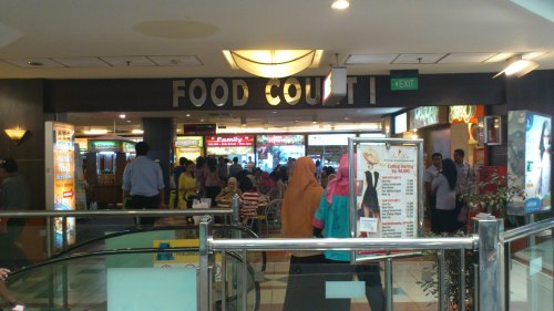 food court, ambassador shopping mall, jakarta, indonesia