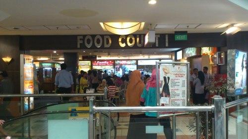 food court, ambassador shopping mall, jakarta, indonesia