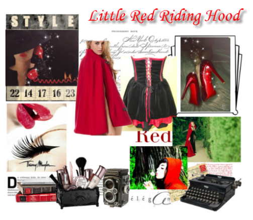Halloween, DIY Halloween costume, halloween craft, costume halloween, little red riding hood costume