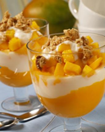 Mango Yogurt Parfaits, mango recipes