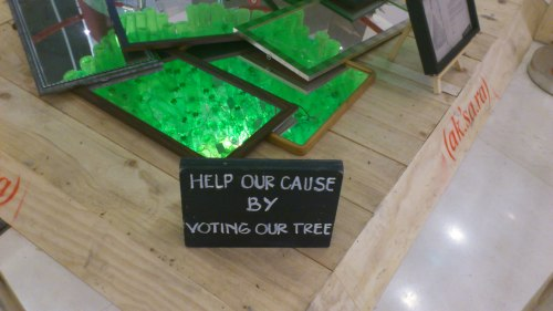 christmas tree voting