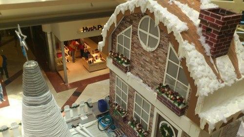 Christmas snow casltes