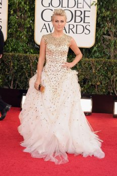 2013 golden globe Julianne Hough