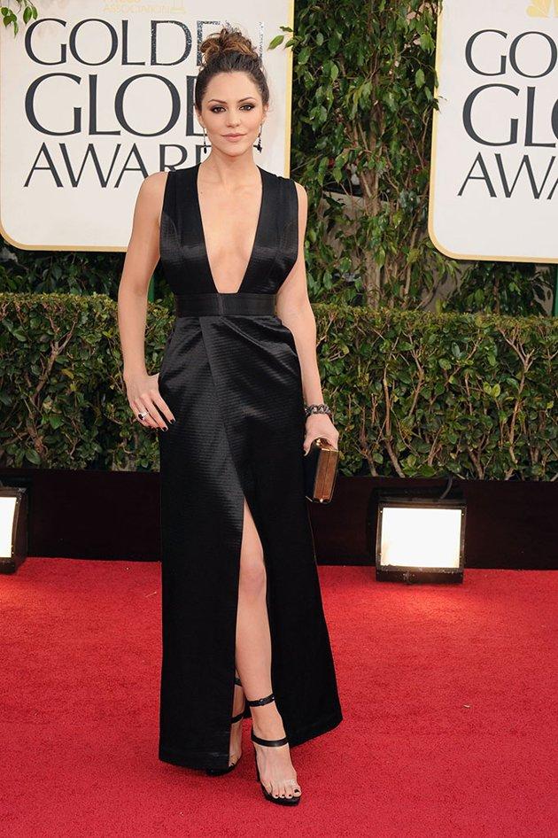 2013 Golden Globe Dresses Black Dress And More Midnight Visitor