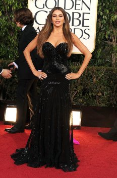 2013 Golden Globe sofia vergara
