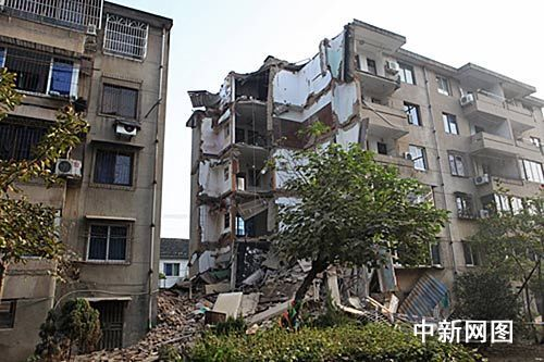 building collapse hangzhou china 2012 december