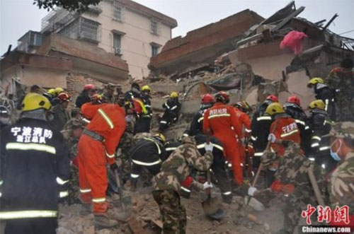 building collapse hangzhou china 2012 december1