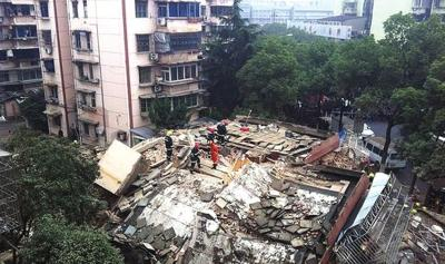 building collapse hangzhou china 2012 december2