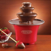 Chocolate Fountain, chocolate gifts for valentine's day, chocolate present valentine's day