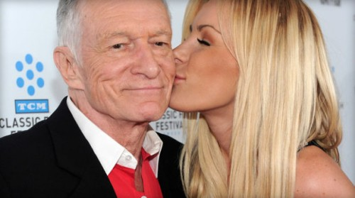 hugh hefner and crystal harris, hugh hefner married crystal, hugh hefner new wife