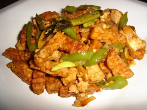 tumis tempe indonesia food recipe