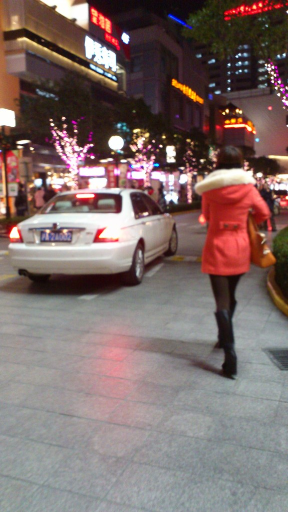 tutu missing girl red coat shanghai china